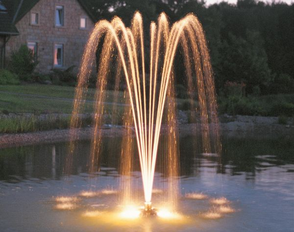 Pond jet classic floating fountain oase fountains