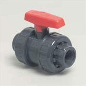 Ball valve 1 inch BSP Double Union threaded