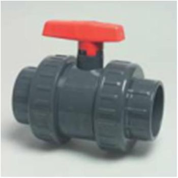 Ball valve 1 inch BSP Double Union threaded