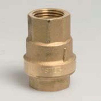 1 1/2 inch BSPF Brass Spring Check Valve