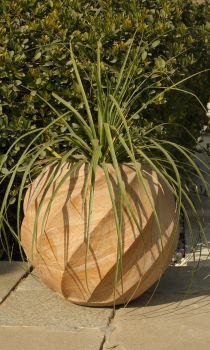 Elisa Decorative Planter - Rainbow Sandstone