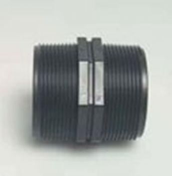 PP Nipple 3/4 inch BSPM