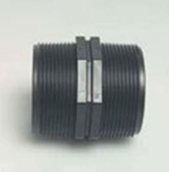 PP Nipple 1 1/2 inch BSPM