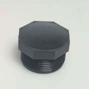 PP Plug 1/2 inch BSPM