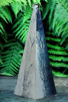 Aswan Stainless Steel Pyramid - H650mm