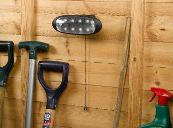 Solar Shed Light with Pull Cord