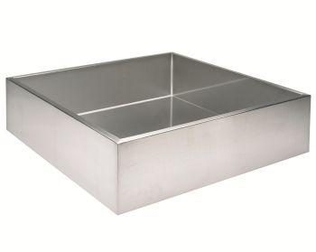 60 x 60 x 20cm square reservoir - 72 litres