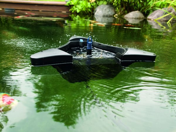 Oase swimskim 50 floating pond skimmer water garden uk for Surface fish ponds