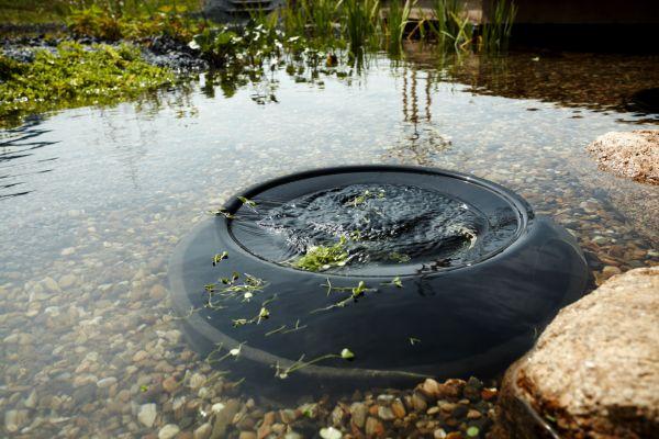 Profiskim 100 oase pond surface skimmers water garden uk for Garden pond skimmer