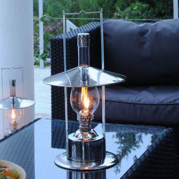 Toronto Oil Lantern - Stainless Steel