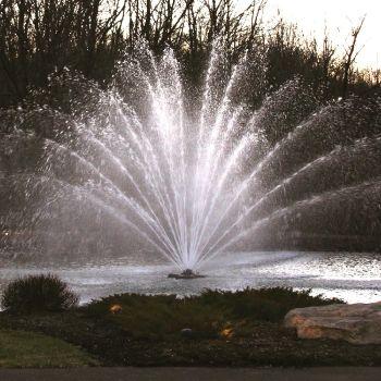 Equinox Floating Lake Fountain