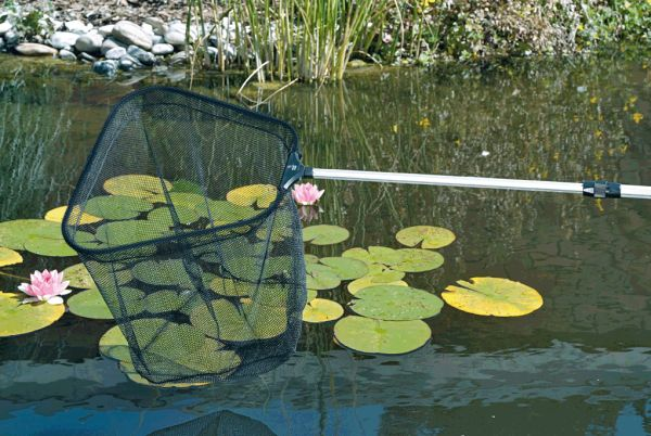 Profi fish net pond maintenance tools water garden uk for Pond cleaning fish