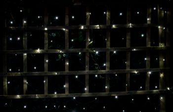 Solar LED Net Light - 160cm x 130cm (100 LEDs)
