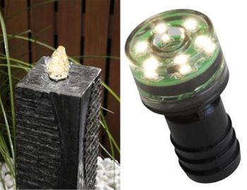 Bubble Jet Fountain Light - 6 LED Warm White - 1w