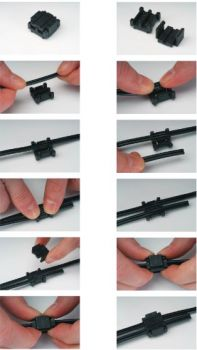 Cable Click Joiner - 120w max