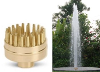 Cluster Jet Fountain Nozzle 30 Jets