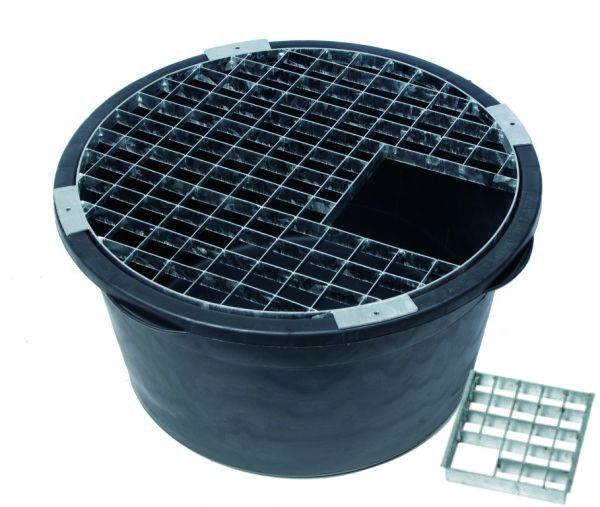 60cm Water Feature Reservoir Steel Safety Grid