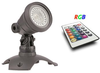 WaterGarden RGB LED Master Light Set with Remote - 3w