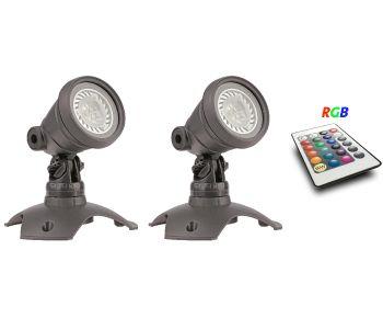 WaterGarden RGB Spotlight Set 2