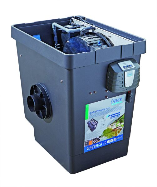 Biotec premium 80000 oase drum filters water garden uk for Ornamental fish pond filters