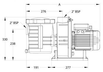 Sta-Rite Self-Priming Pool Pump 0.75KW