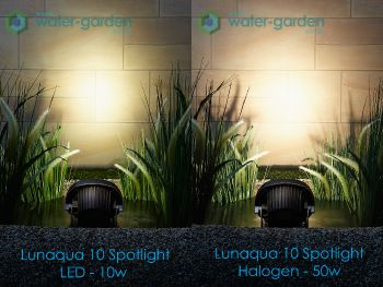 Lunaqua 10 LED Underwater Spotlight