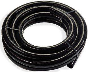 "1m x 1"" Smooth Bore Flexible Hose (Black)"