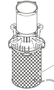 Motor Section Assy for AirFlo 1500/230V