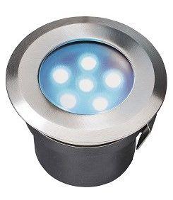 70mm LED Deck Light (Blue) - 1w