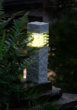 Stone Effect LED Pillar Light 40cm – 2w