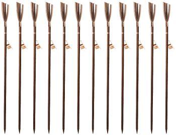 Pisa Oil Torches - Copper (Set of 12)