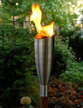 Pisa Oil Torch - Steel