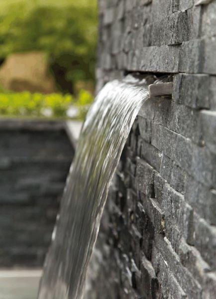 Oase waterfall blades water cascade features water garden uk - Wand wasserfall ...