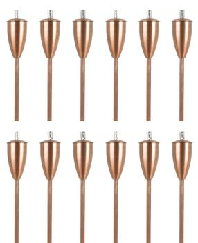 Athens Oil torches - Copper (Set of 12)