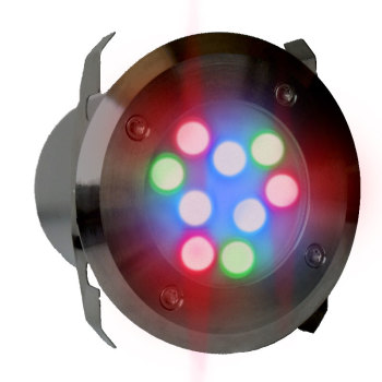 UltraLuxx RGB LED Deck Light + R/C - 18w