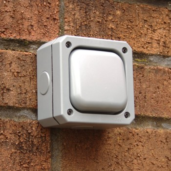 One Gang 10A Weatherproof Switch - IP66