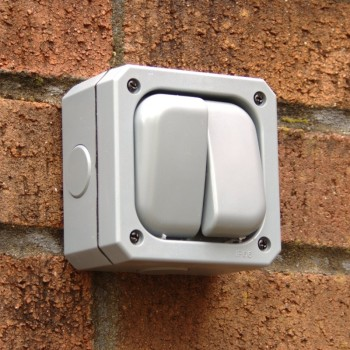 Two Gang 10A Weatherproof Switch - IP66