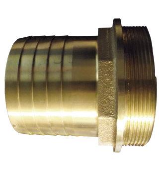 3 inch BSPM Brass Hosetail