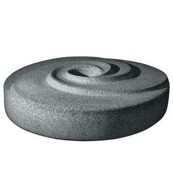 Millstone Radial Water Sculpture - Green