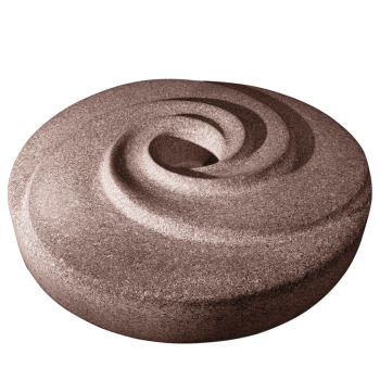 Millstone Radial Water Sculpture - Red