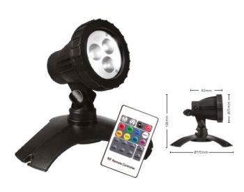 Hydra RGB LED Light Set 1 with Remote Control