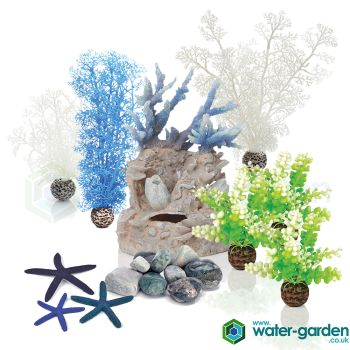 Blue Sea - biOrb Decoration Pack