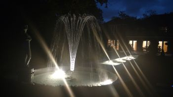 Diamond Jet Nozzle with LED Light - 20 Water Jets