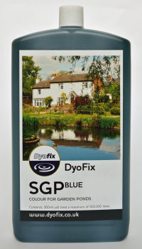 SGP Blue Pond Dye- Treats up to 100,000 Litres