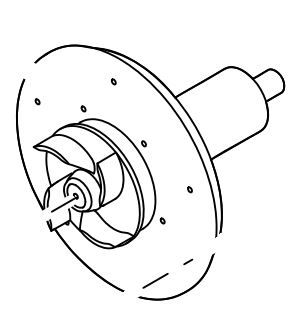 Rotor for AquaMax ECO Expert 21000/26000