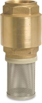 1 1/2 inch BSPF Footvalve and Strainer