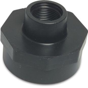 "PP Reducing Socket 1/2"" BSPF x 1"" BSPF"