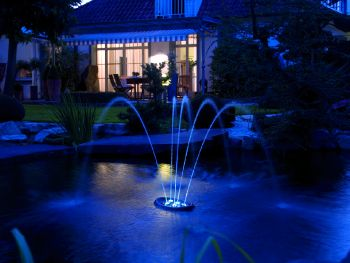 Water Starlet 5 Jet Floating Pond Fountain